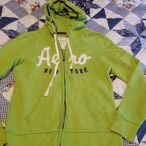 Ladies Aeropostale Full Zip Hoodie Size Large
